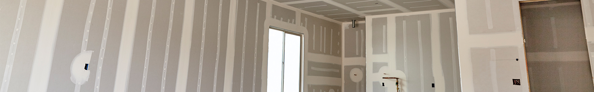 Image of Drywall applied to room